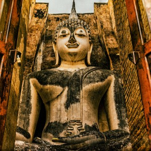 Thailand, Tempel, Buddha