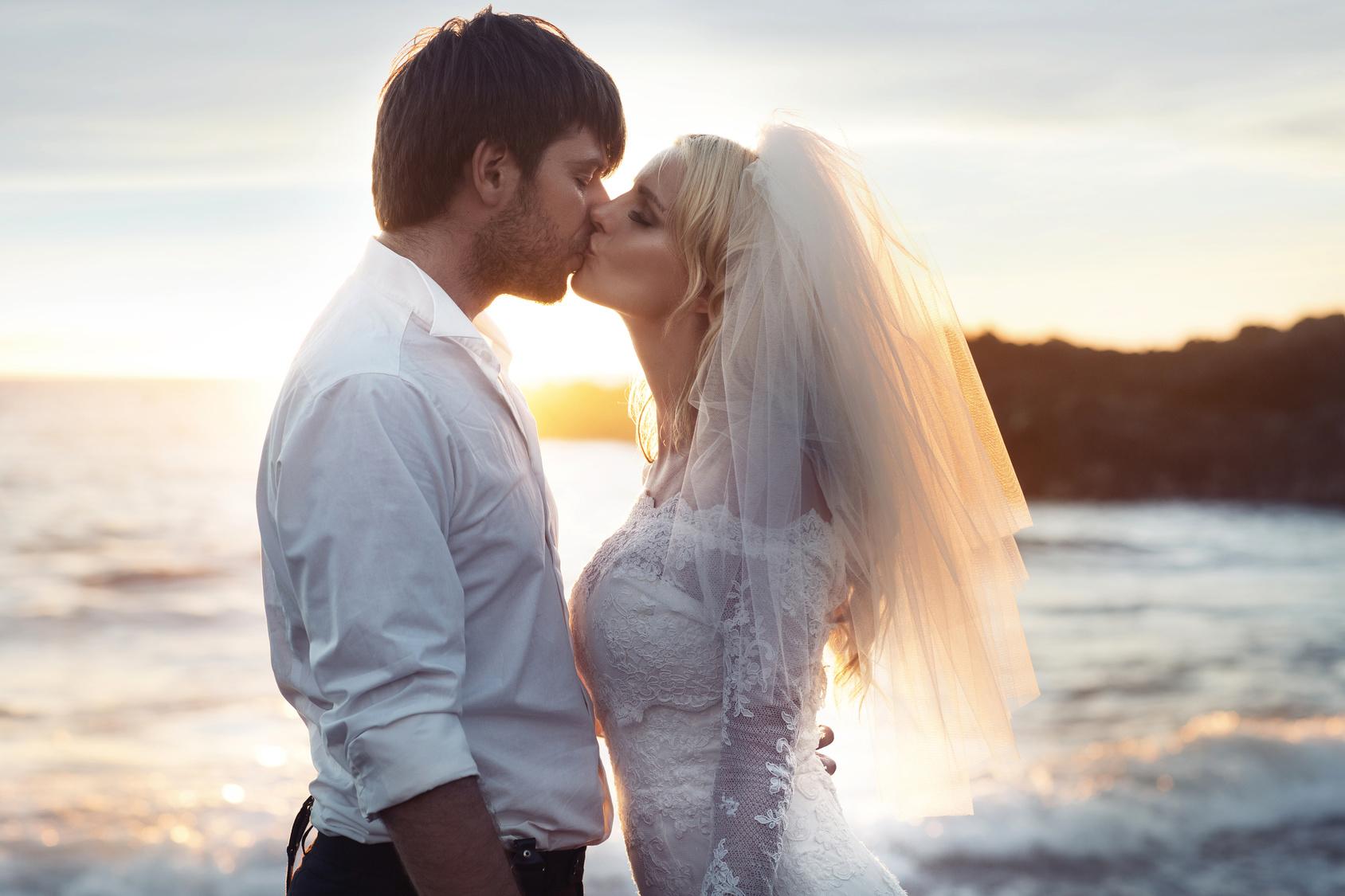 Hochzeit am Strand Honeymoon