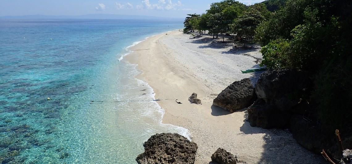 Cebu, Philippinen, Strand