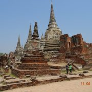 Thailand, Ayutthaya, Tempel, Buddhismus, Rundreise, UNESCO, Royal Cities, Klassisches Nordthailand
