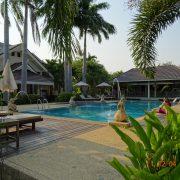 Royal Cities, Klassisches Nordthailand, Hotel, Lodge, Bungalow, Thailand, Asien, Rundreise, Pool, grün