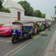 Tuk Tuk, Taxi, Bangkok, Thailand, Asien, Stadt, Thais, Mensch, Straße, Verkehr