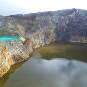 Kelimutu, Indonesien, Flores, Moni, Asien, Kratersee, Natur, Wasser