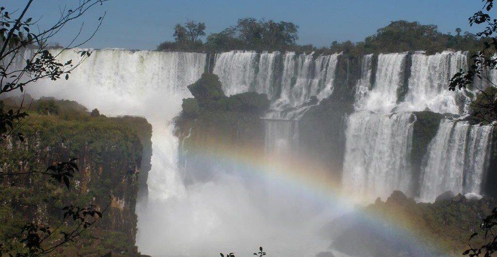Südamerika, Brasilien, Argentinien, Wasserfall