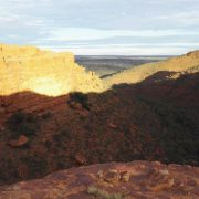 Australien, Outback, Büsche, Kings Canyon, Sonnenaufgang, sunrise