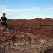 Australien, Outback, Büsche, Kings Canyon, Lilli