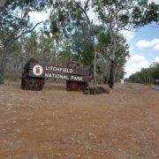 Australien, Darwin, Litchfield National Park, Straße, Schild