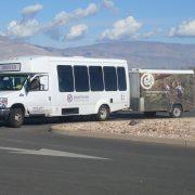 Gadventures, Reisebus, Reisemobil, Auto, USA, Yolo