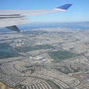 Flugzeug, San Francisco, Kalifornien, USA, Flug