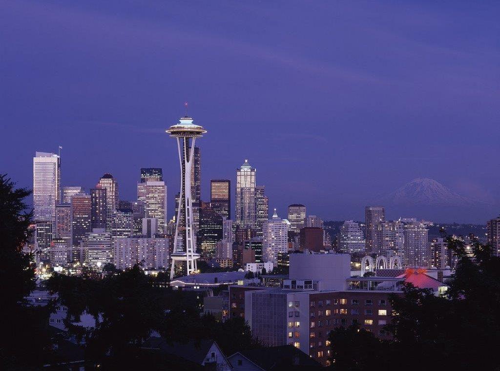 Seattle, USA, Space Needle, Annette Hlawatsch, Skyline