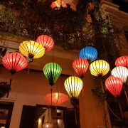 Vietnam, Asien, Südostasien, Hoi An, Strand, Altstadt, Abendstimmung, Bummel, Shopping, Lampions, bunt, traditionell, Markenzeichen, Tam Tam Cafe