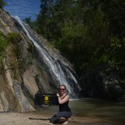 Trekking Nordthailand Wasserfall