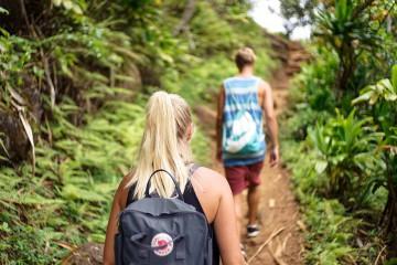 Trekking, Dschungel, jung, Abenteuer