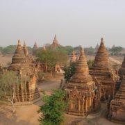 Bagan, Myanmar, Pagoden, Tempel