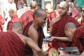Mandalay, Mönche, Myanmar