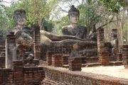 Tempel, Thailand, Statue, Buddha, Buddhismus, Rundreise, UNESCO, Sukothai, Royal Cities, Klassisches Nordthailand