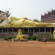 Liegender Buddha, Buddhismus, Thailand, Tempel, UNESCO, Royal Cities, Klassisches Nordthailand