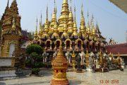Tempel, Thailand, Gold, Buddhismus, Elefant, Royal Cities, Klassisches Nordthailand