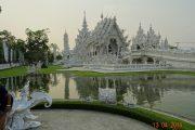 Chiang Rai, Wat Rong Khun, Weißer Tempel, Thailand, Nordthailand, Buddhismus, Royal Cities, Klassisches Nordthailand