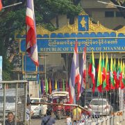 Grenze Thailand Myanmar, Goldenes Dreieck, Chiang Rai, Royal Cities, Klassisches Nordthailand