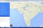 Karte: Indien- Rajasthan Highlights