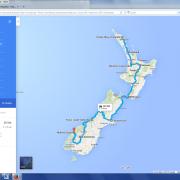 Karte: Neuseeland- Grand Explorer