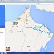 Karte: Orient- Oman erleben2