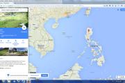 Karte: Philippinen- Die Terassen von Banaue
