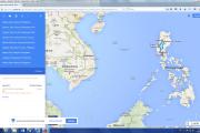 Karte: Philippinen- Nordluzon aktiv