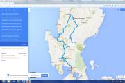 Karte: Philippinen- Nordluzon aktiv2