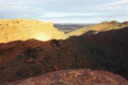Australien, Outback, Büsche, Kings Canyon, Sonnenaufgang, sunrise