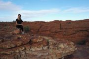 Australien, Outback, Büsche, Kings Canyon, Lilli