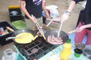 Frühstück, Gadventures, USA, Campingplatz, Zelt, zelten, Essen, yolo