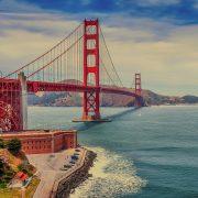 Golden Gate Bridge, Westküste USA, Camping, Junge Leute, Abenteuer, Rundreise, San Francisco, Metropole, Städtereise, Alleinreisende
