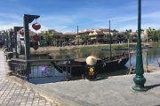 Hoi An, Vietnam, Asien, Südostasien, Brücke, Wasser, Fluss, Bootsfahrt, Abenteuer, Backpacker, Rundreise, bunt