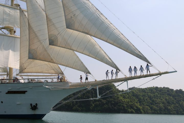 Star Clipper Reise Segeln Schiff