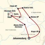 Reise Route