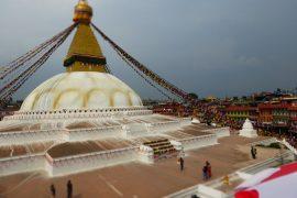 Pashupatinath Tempel, Bodhnath Stupa, Nepal, Rundreise, Kathmandu