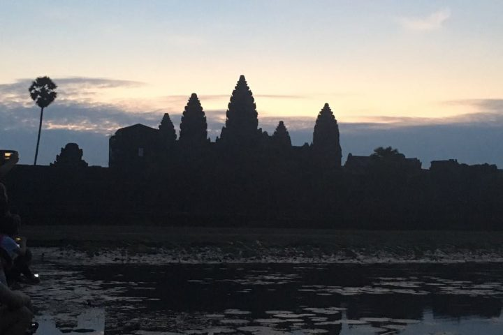 Angkor Wat am Morgen