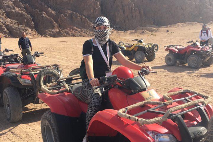 Quadtour in der Wüste